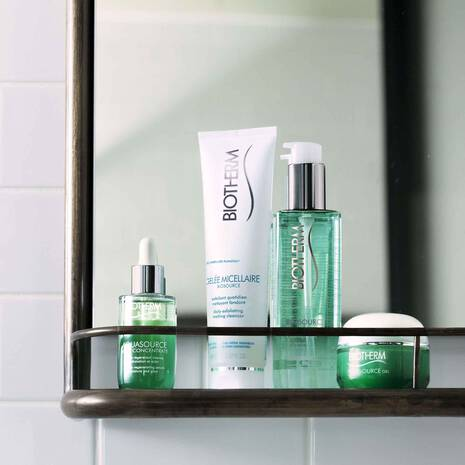 BIOSOURCE EXFOLIATING & CLEASING GELEE MICELLAIRE